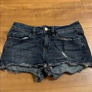 PINK by Victoria's Secret blue jean Shorts Size 0
